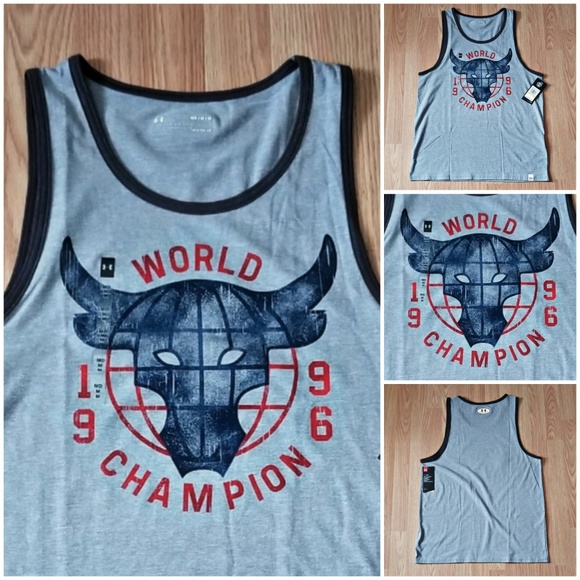 7d47756be02785 Under Armour x Project Rock 96 World Champion Tank